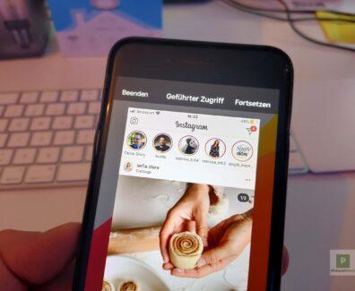 Aktuelle iPhone App sperren für Fremde Augen