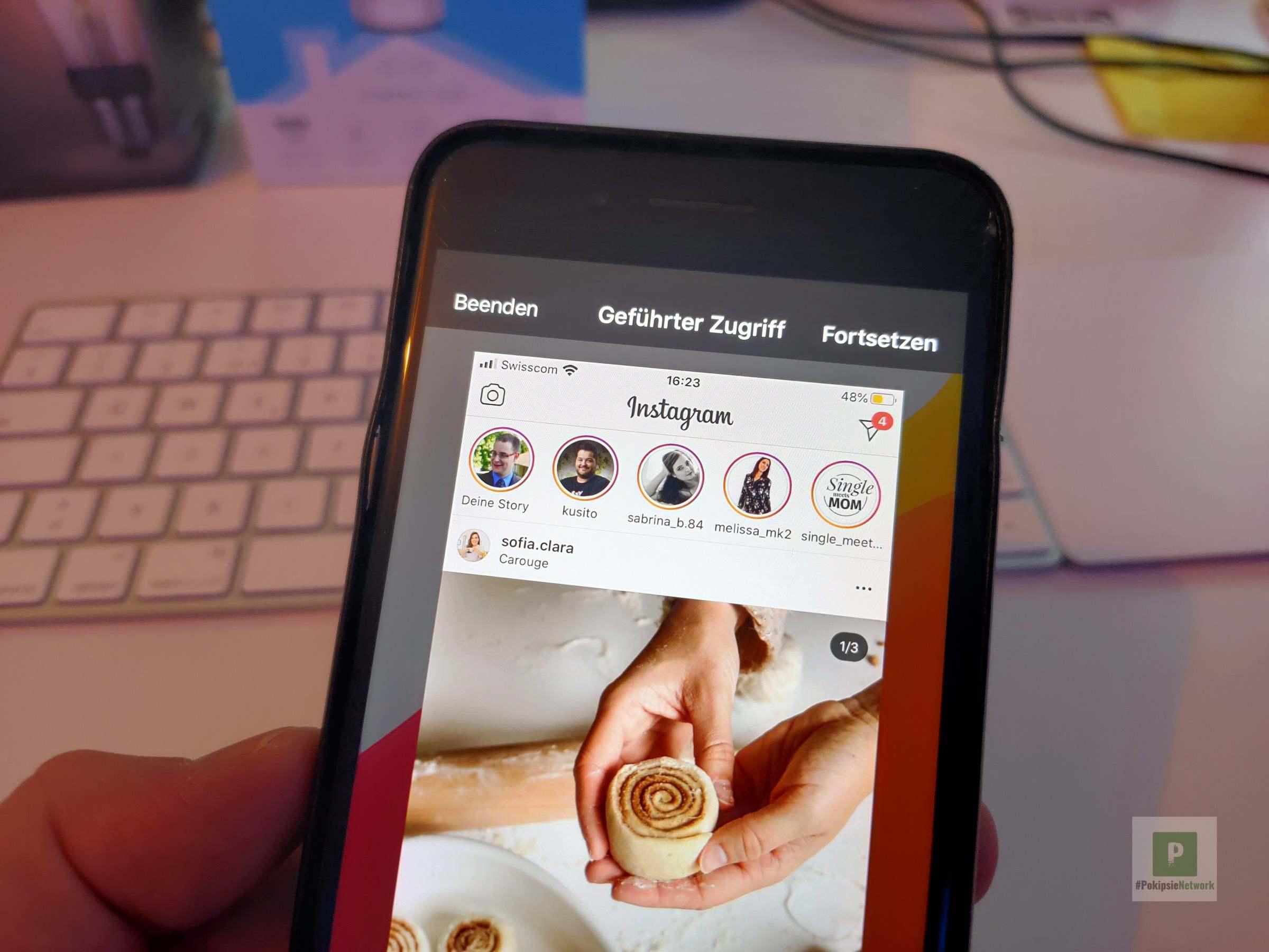 Tutorial – Aktuelle iPhone App sperren für Fremde Augen «Geführter Zugriff»