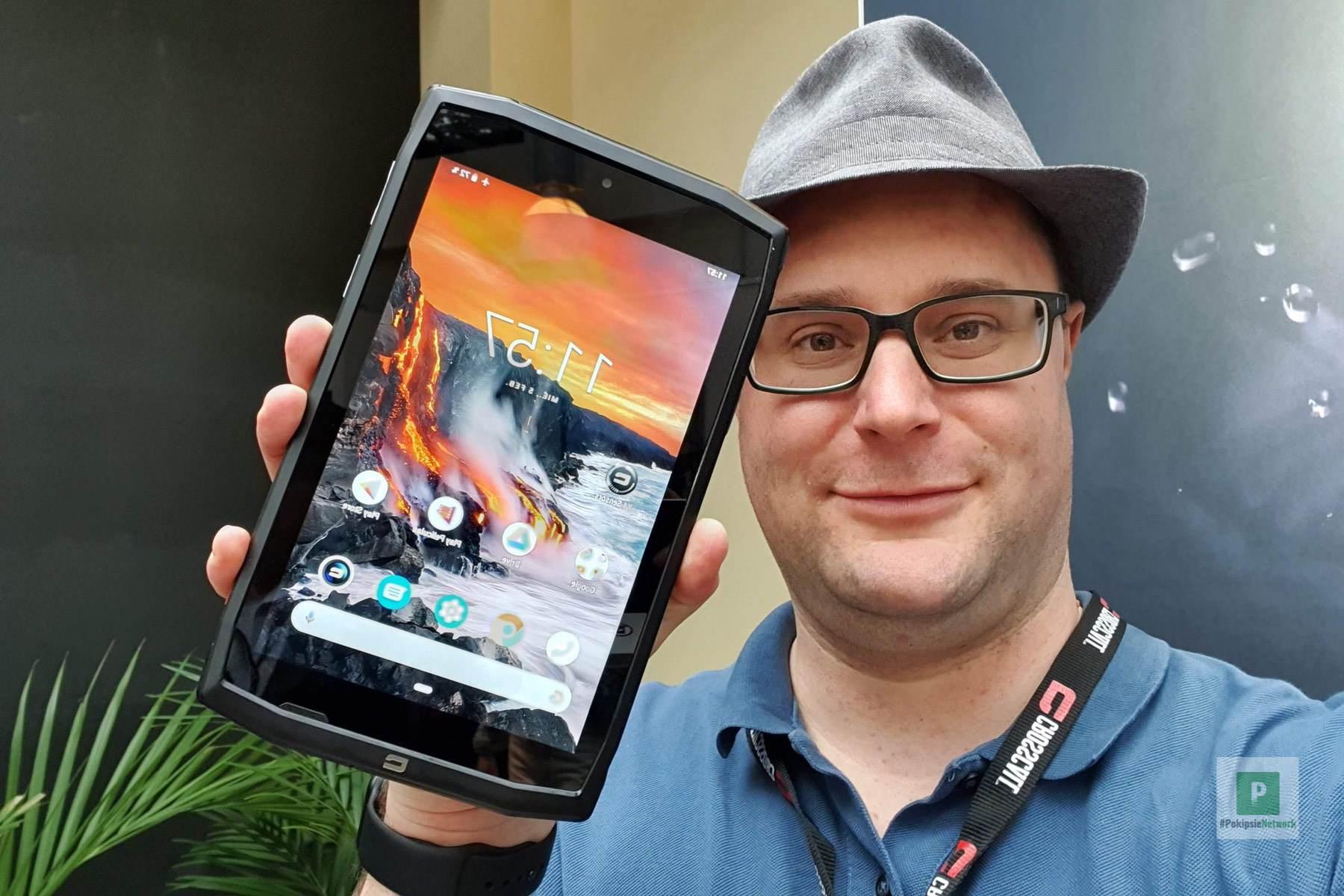 Das neue Crosscall Tablet