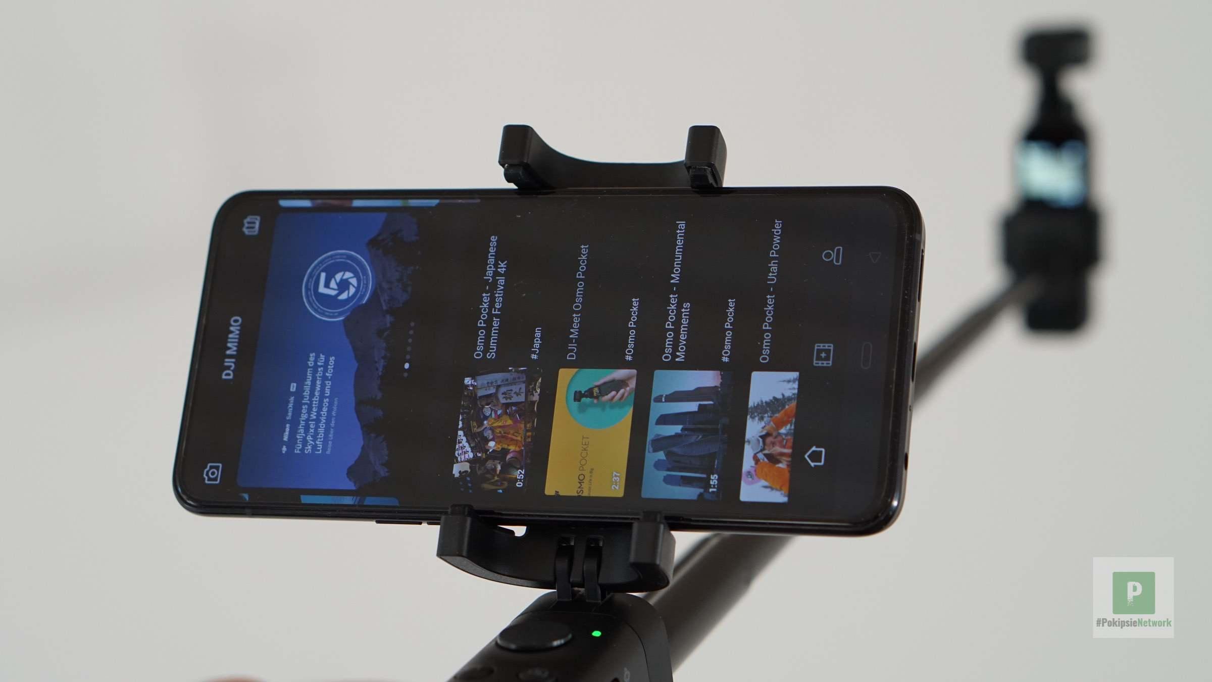 DJI Osmo Pocket Extension Rod im Test