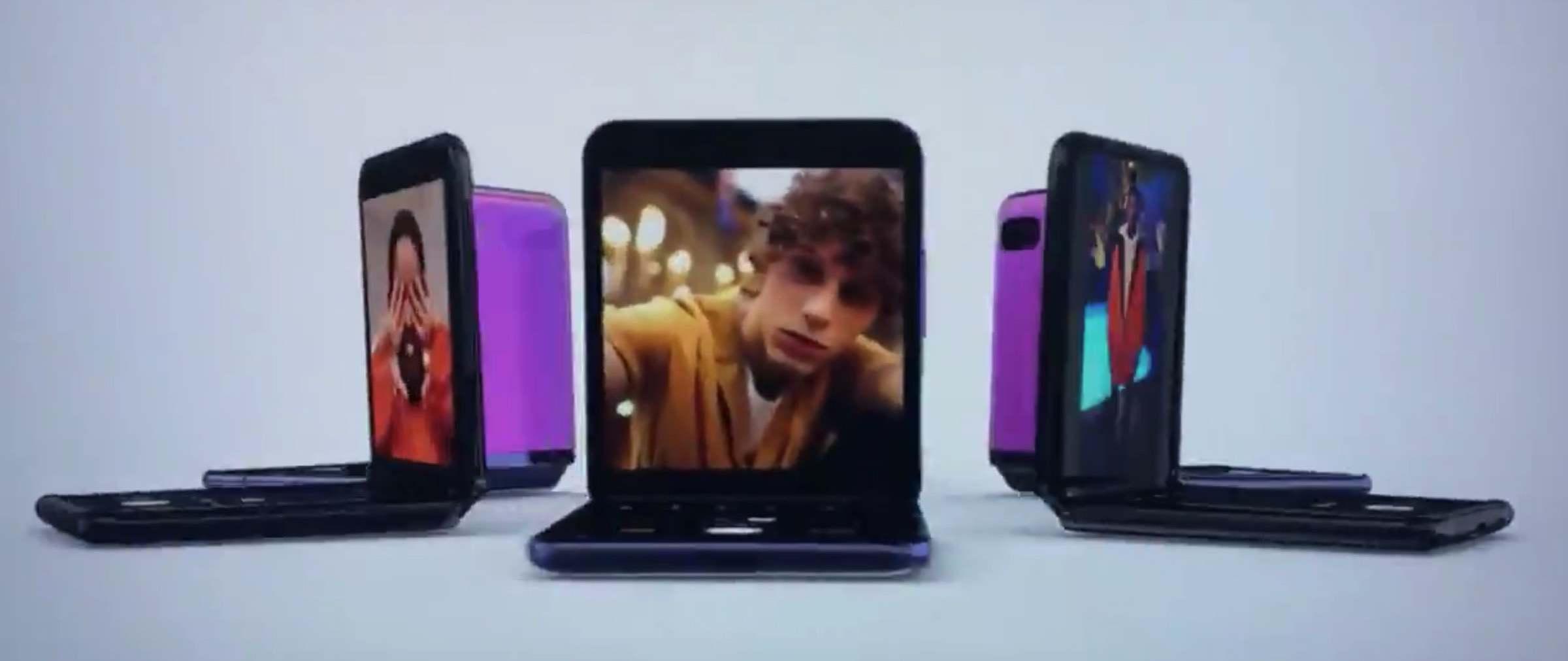 Galaxy Z Flip – Samsung zeigt kurz Video zum zweiten Falt-Smartphone