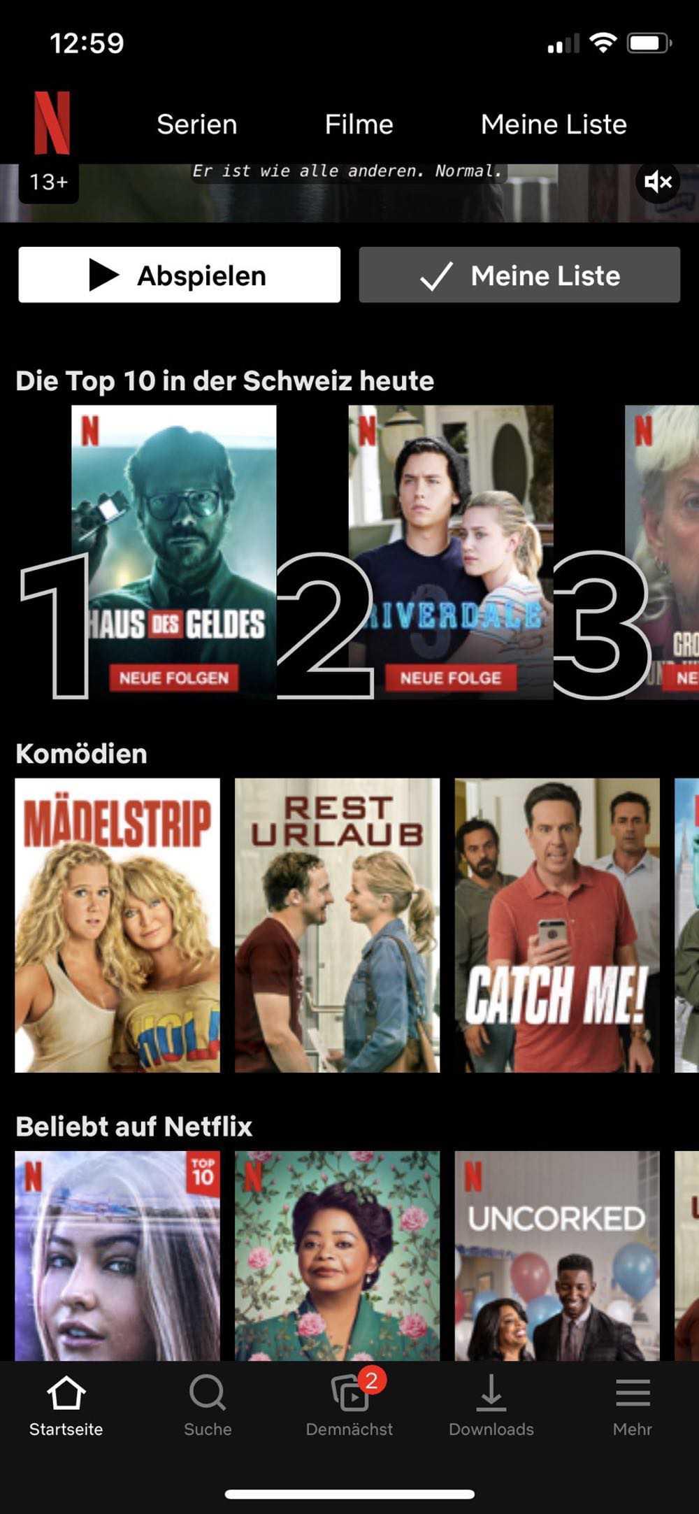 Top-10-Listen