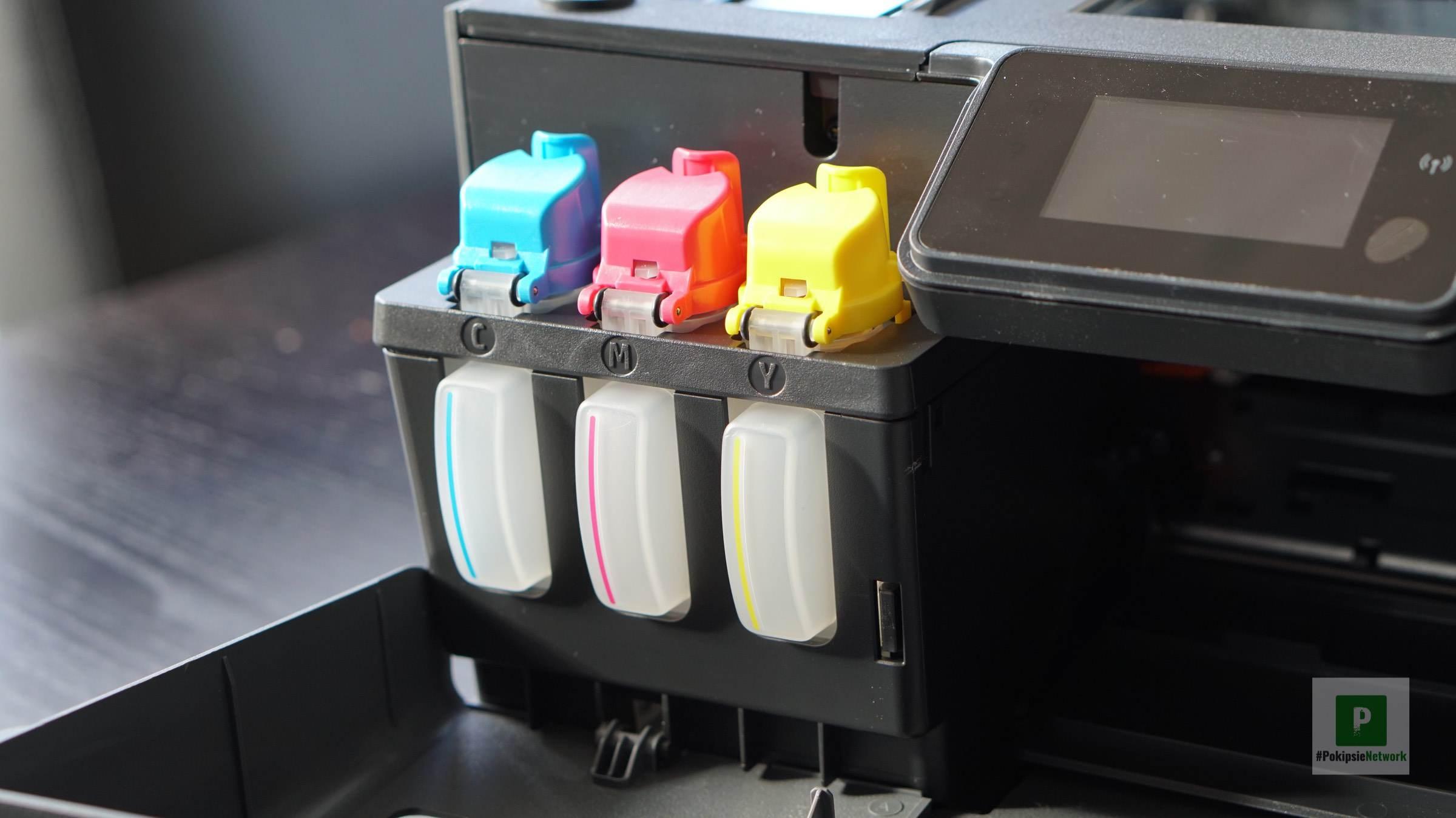 HP Smart Tank Plus-Serie – Drucken aus der Flasche