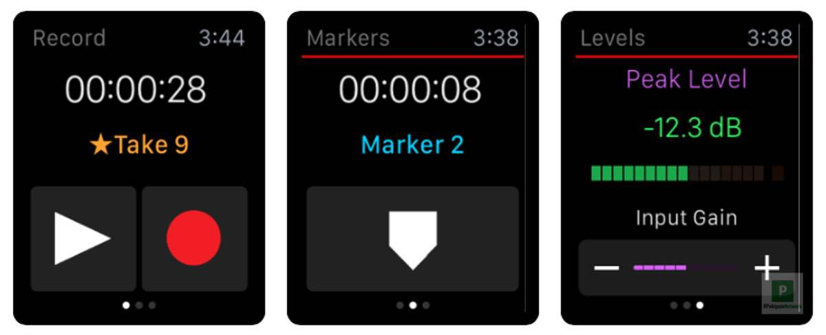 Apogee MetaRecorder Apple Watch App