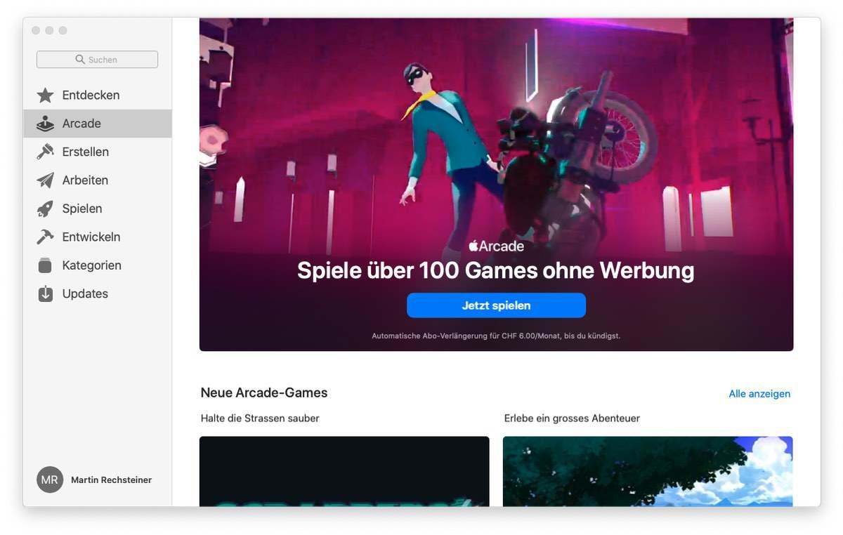 100 Spiele in einem Abo