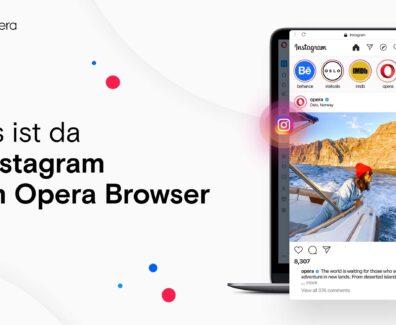 Bilderdienst im Opera Browser