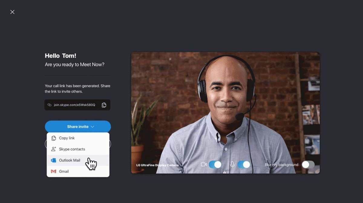Skype Meet Now – Kommunizieren ohne Registrierung