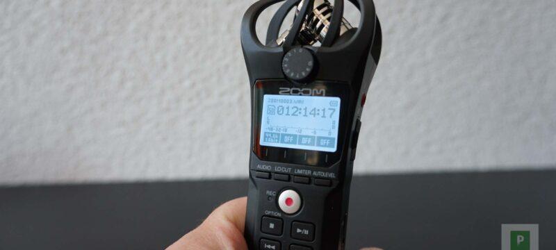 Kompakter Field Recorder