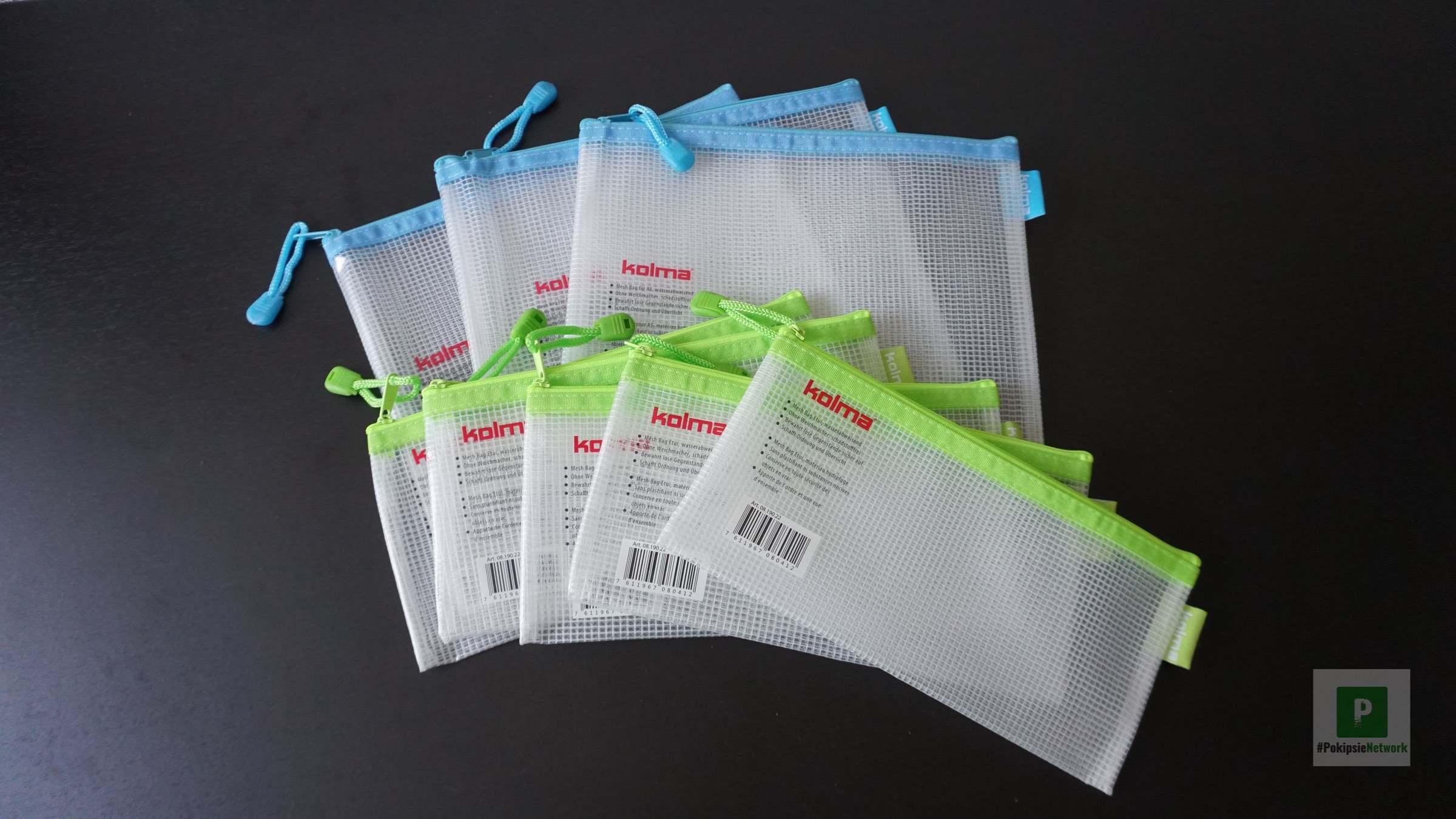 Mesh Bags für mehr Ordnung im Gadget-Rucksack