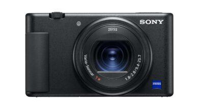 Neue Sony VLOG Kamera
