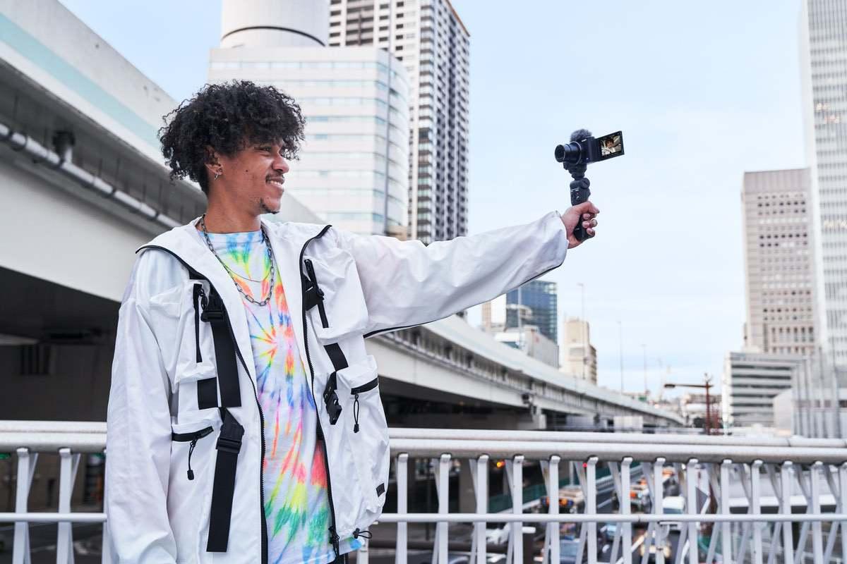 Die Kamera im Einsatz
