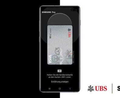Samsung Pay bei UBS und TopCard angekommen