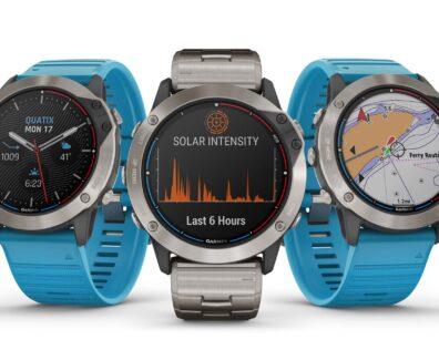 Smarte Wassersport-Uhr