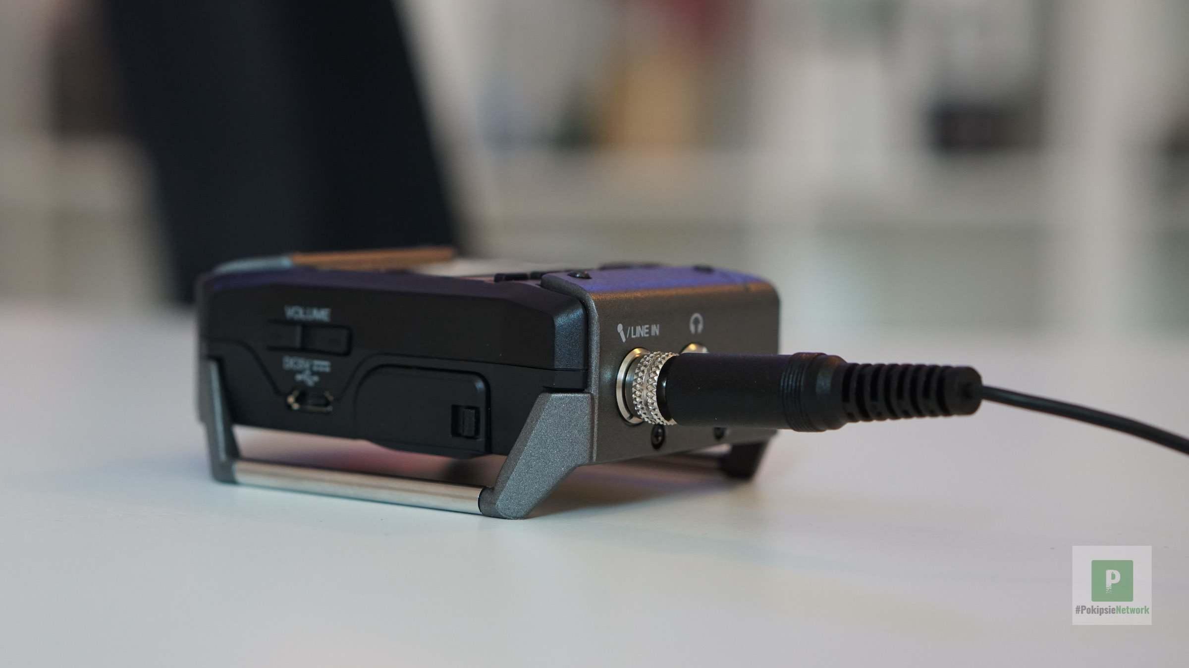Lavelier Mikrofon mit Schraubgewinde
