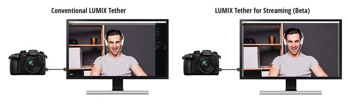 LUMIX Tether for Streaming - Beta