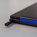 Der im Ultrabook integrierte Stift