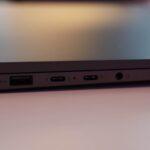 USB-A, zweimal Thunderbolt 3 und Kilnkenport
