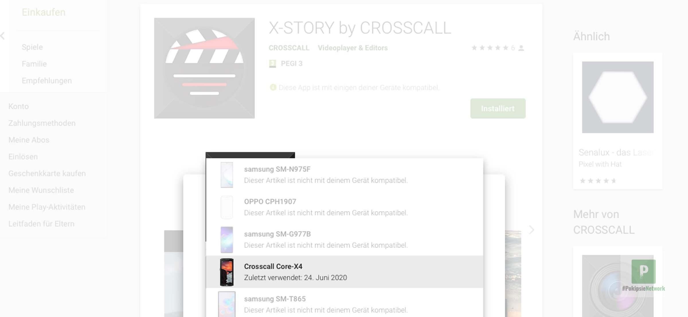 Crosscall bringt eigene Videobearbeitung App
