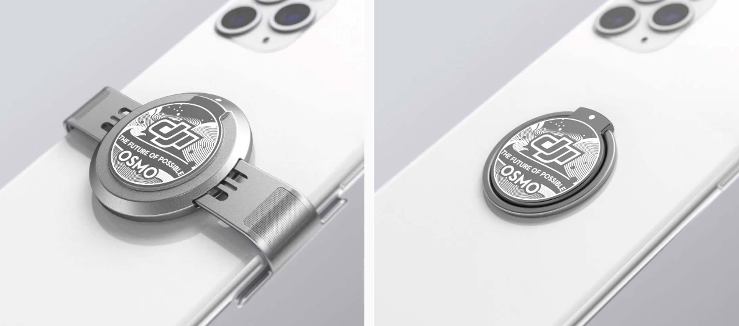 DJI Osmo Mobile 4 - Magnetische Klemme oder Magnetringhalter