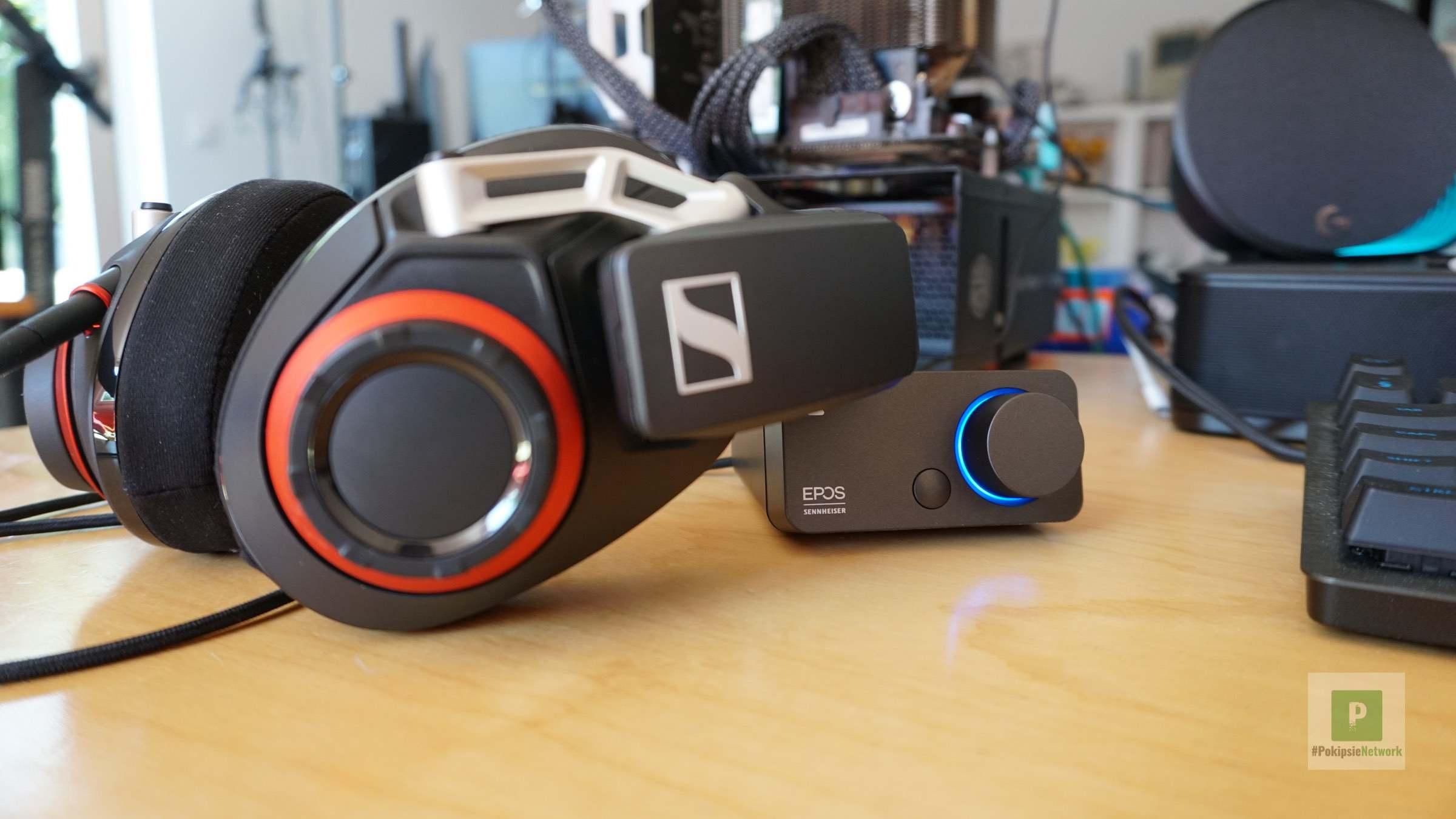 Soundkarte in Zusammenarbeit mit dem Sennheiser Gaming Headset