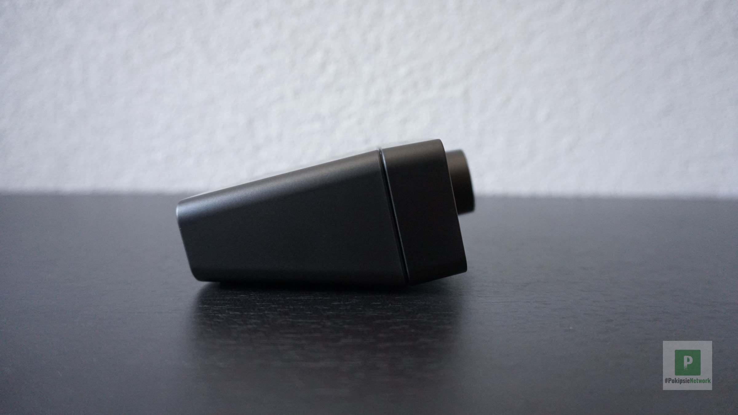Seitliche Sicht auf das Audio Device