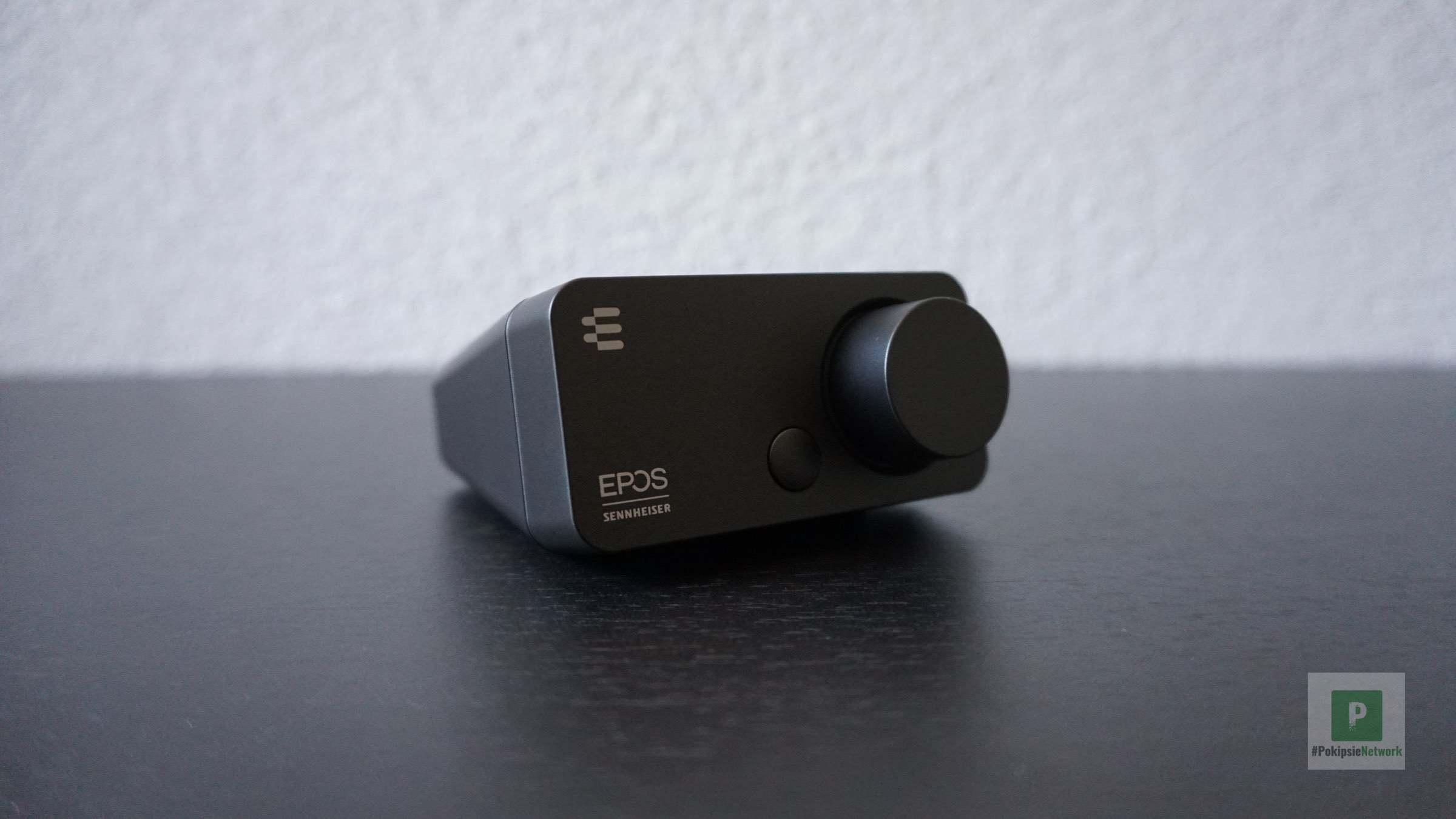 Profilansicht vom kleinen Audio-Device