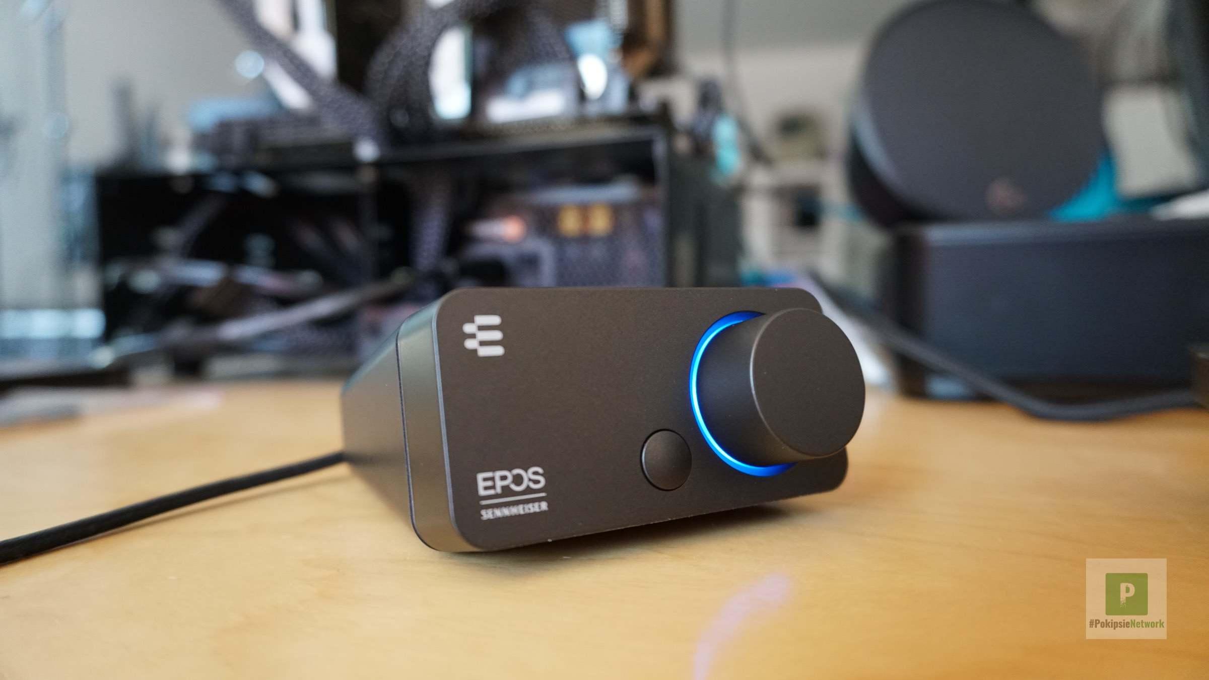 EPOS│SENNHEISER GSX 300 im Test – Externe Soundkarte in chic
