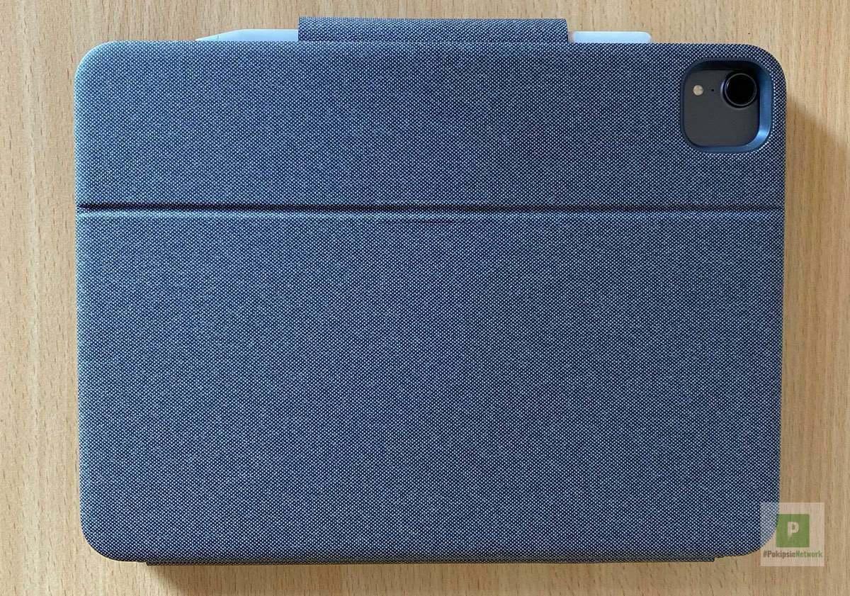 Das iPad in der Hülle mit Stift