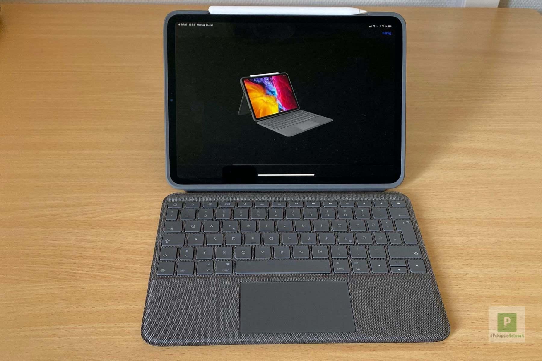 Logitech Folio Touch Keyboard Case mit Trackpad im Test