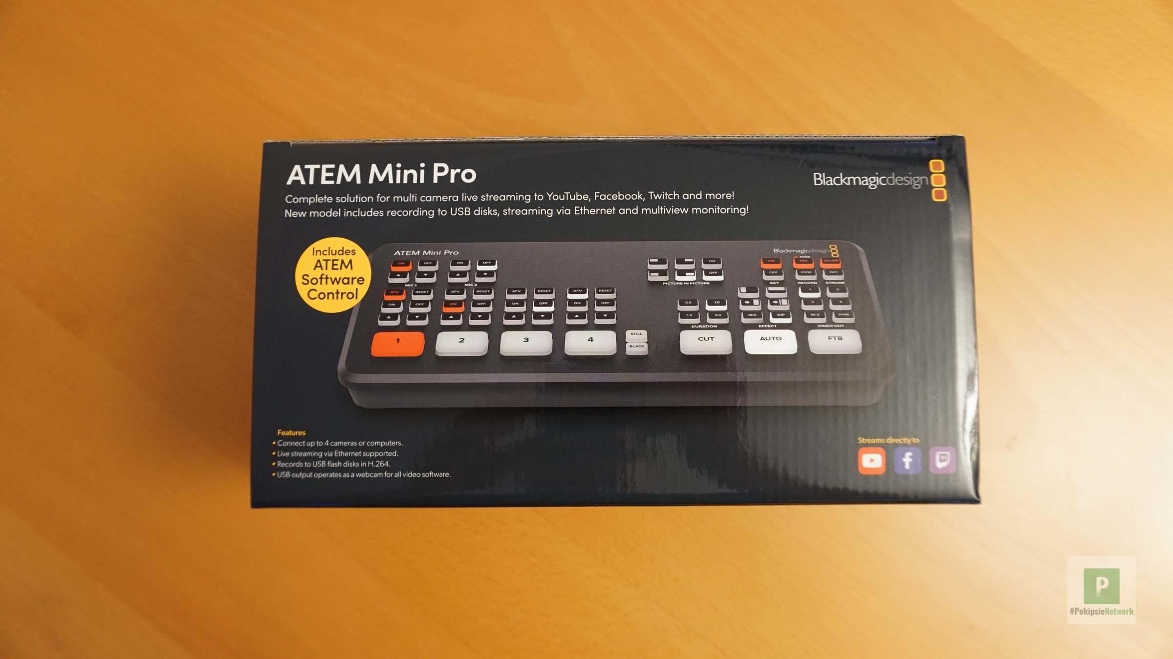 Blackmagic ATEM Mini Pro Test – Bildmischen wie ein Profi?