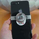 Smartphone Halterung montieren