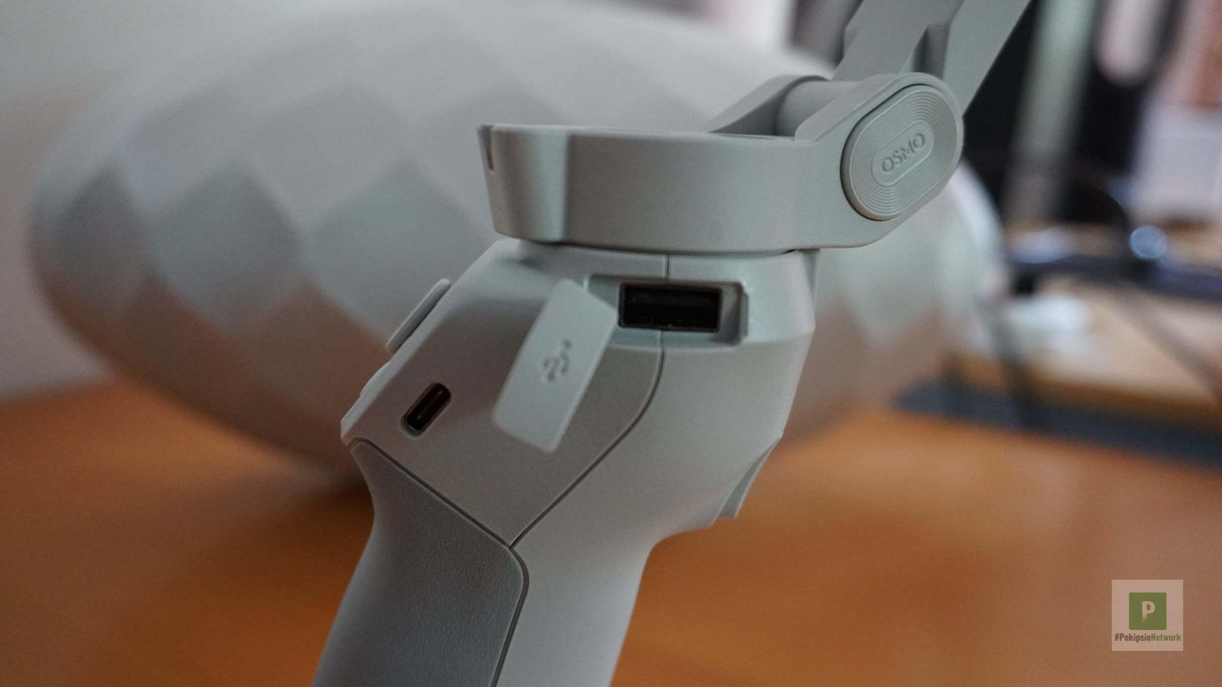 Die beiden USB-Ports