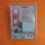 Unpraktische und transparente Plastikverpackungs Rückseite