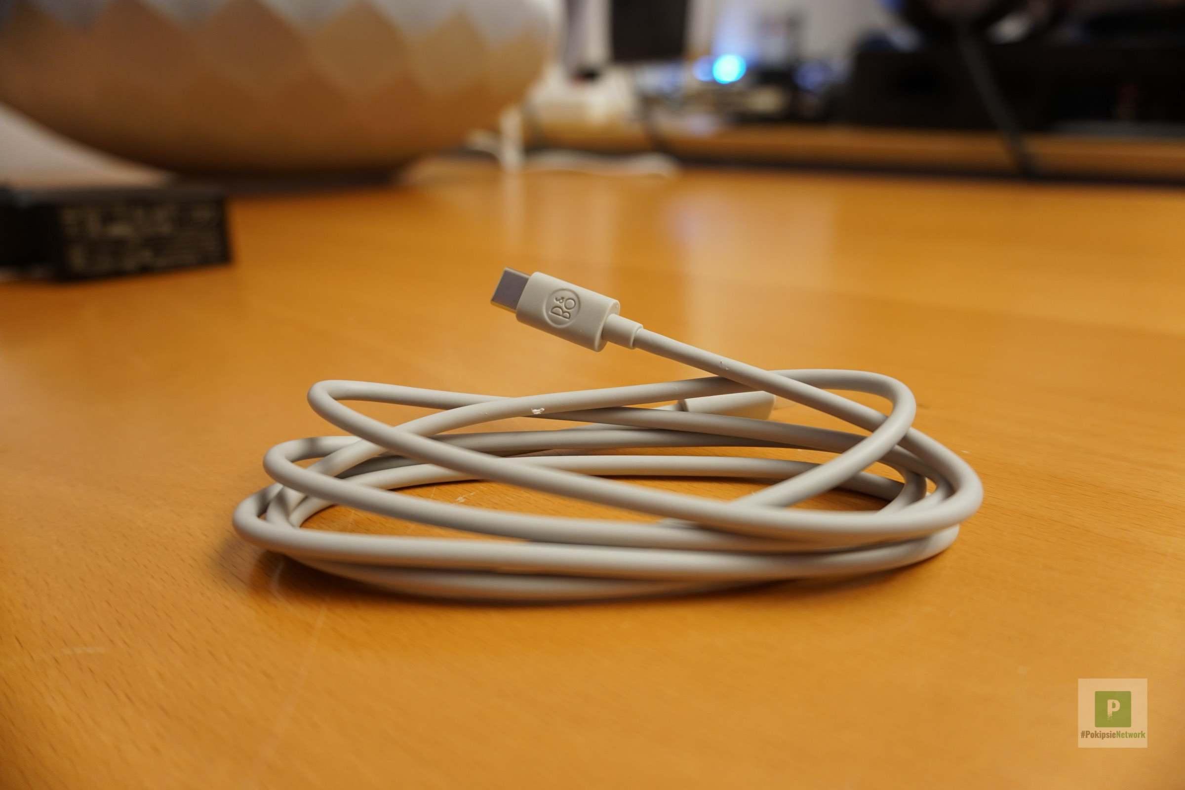 Logo auf dem USB-C Kabel integriert