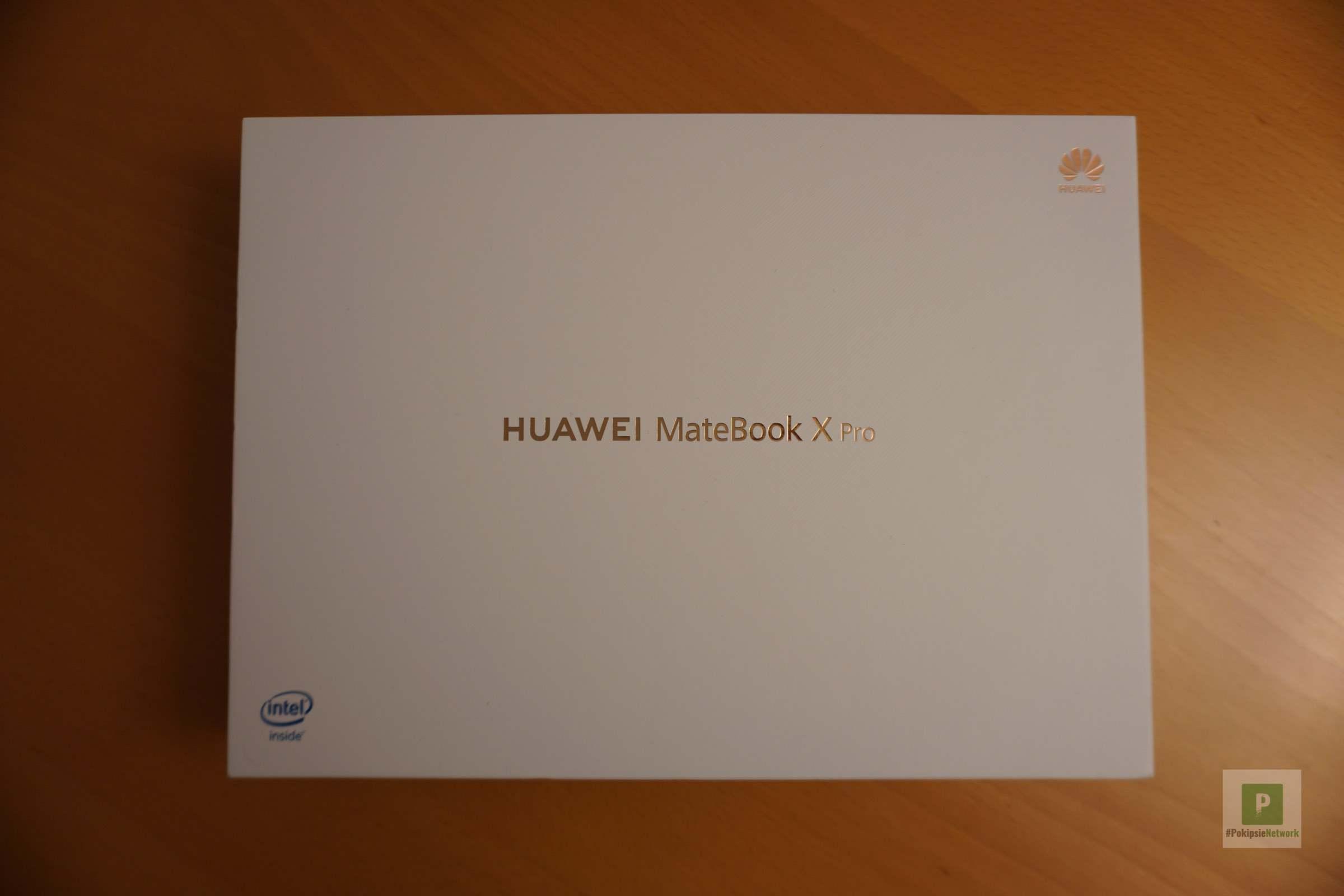 Die Verpackung vom MateBook