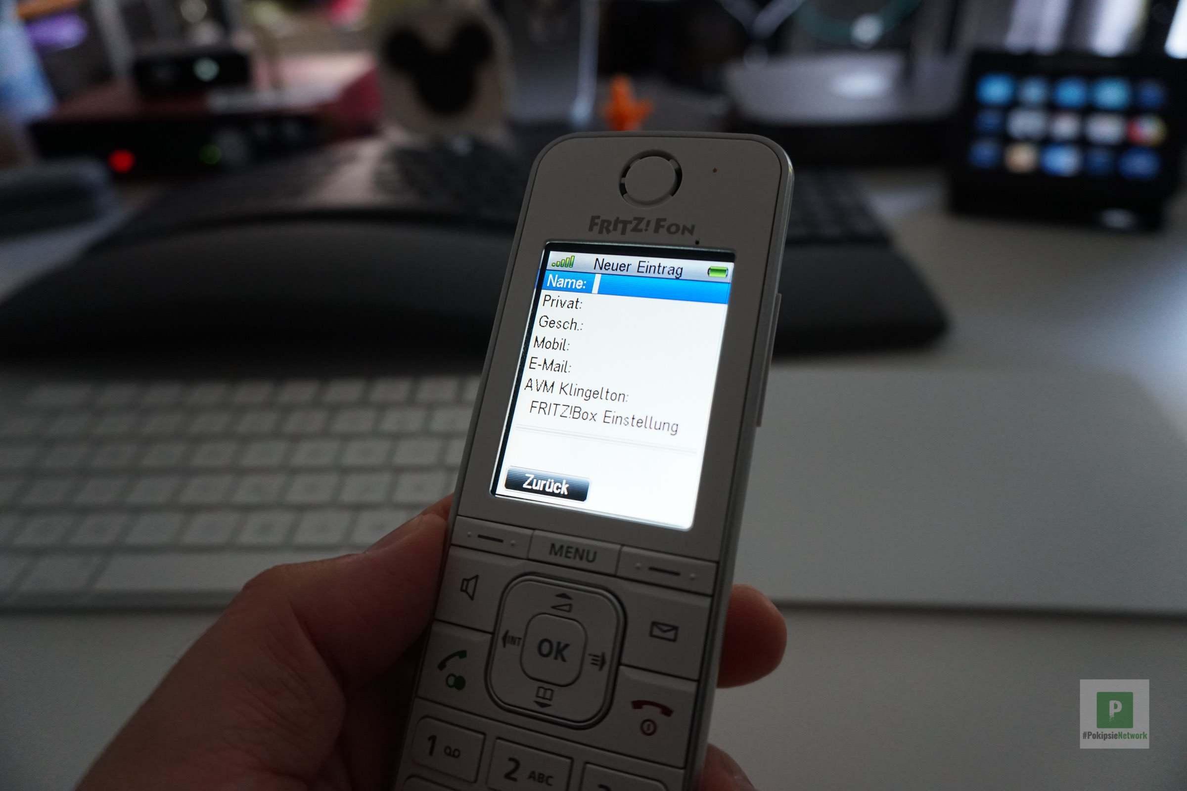 iPhone Kontakte mit FRITZ!Fon synchronisieren