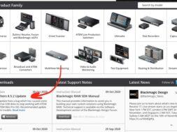 Blackmagic ATEM Mini Firmware Update