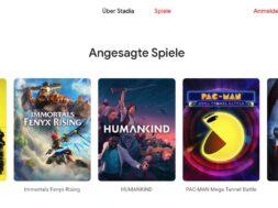 Das sind die aktuellen – und angekuendigten – Spiele für Google Stadia