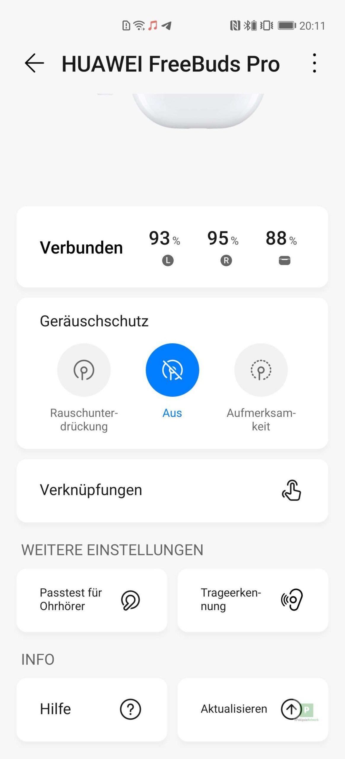 Die App Übersicht