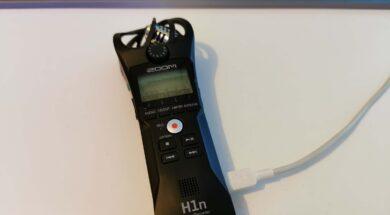 Zoom H1n Firmware Updaten