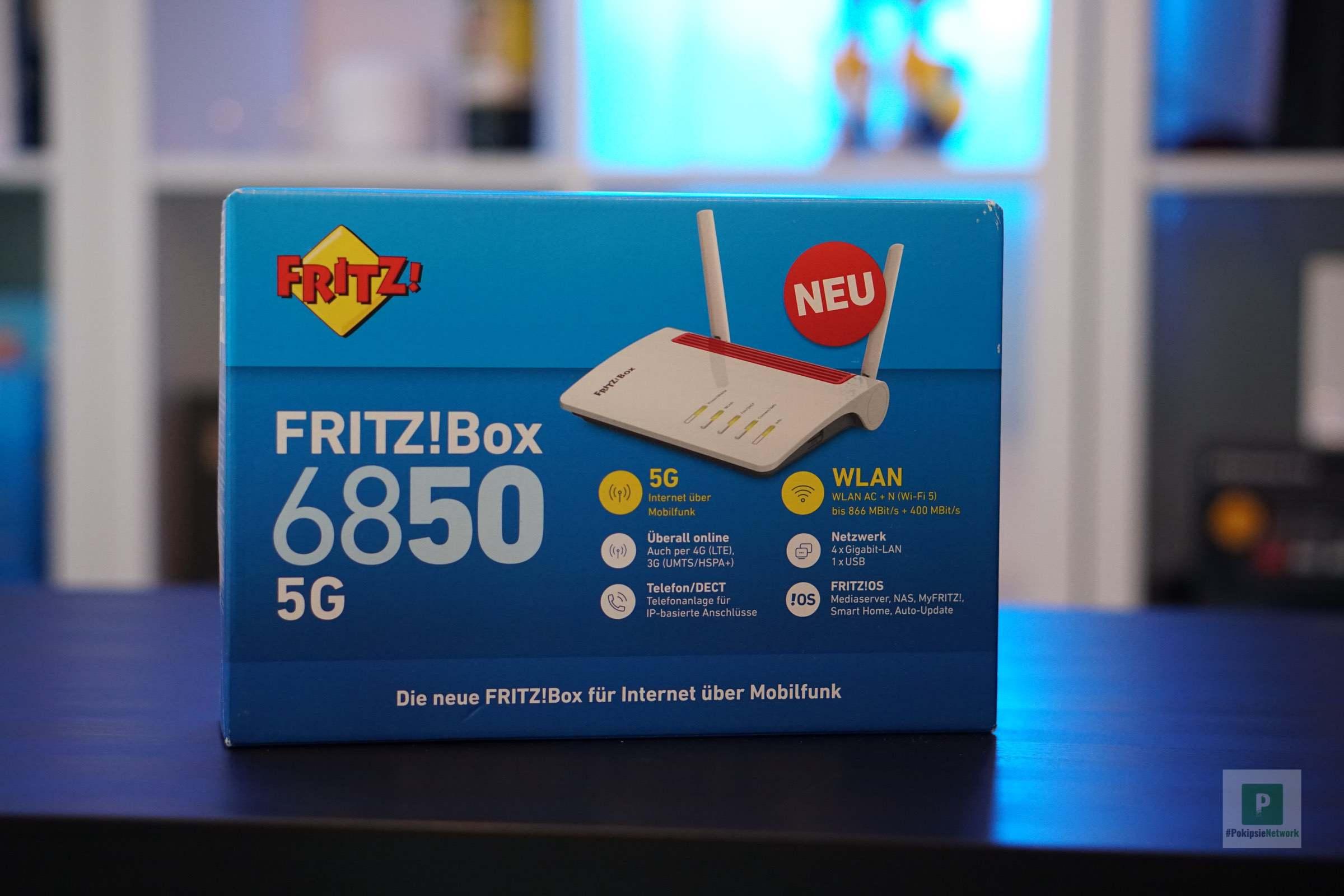 AVM FRITZ!Box 6850 5G angekündigt