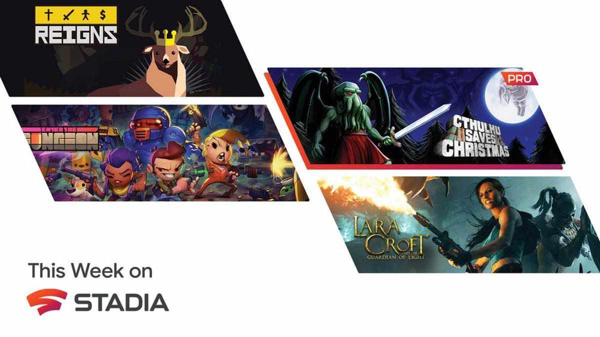 Fünf neue Spiele für Stadia – Für alle Google Stadia Pro Abonnenten