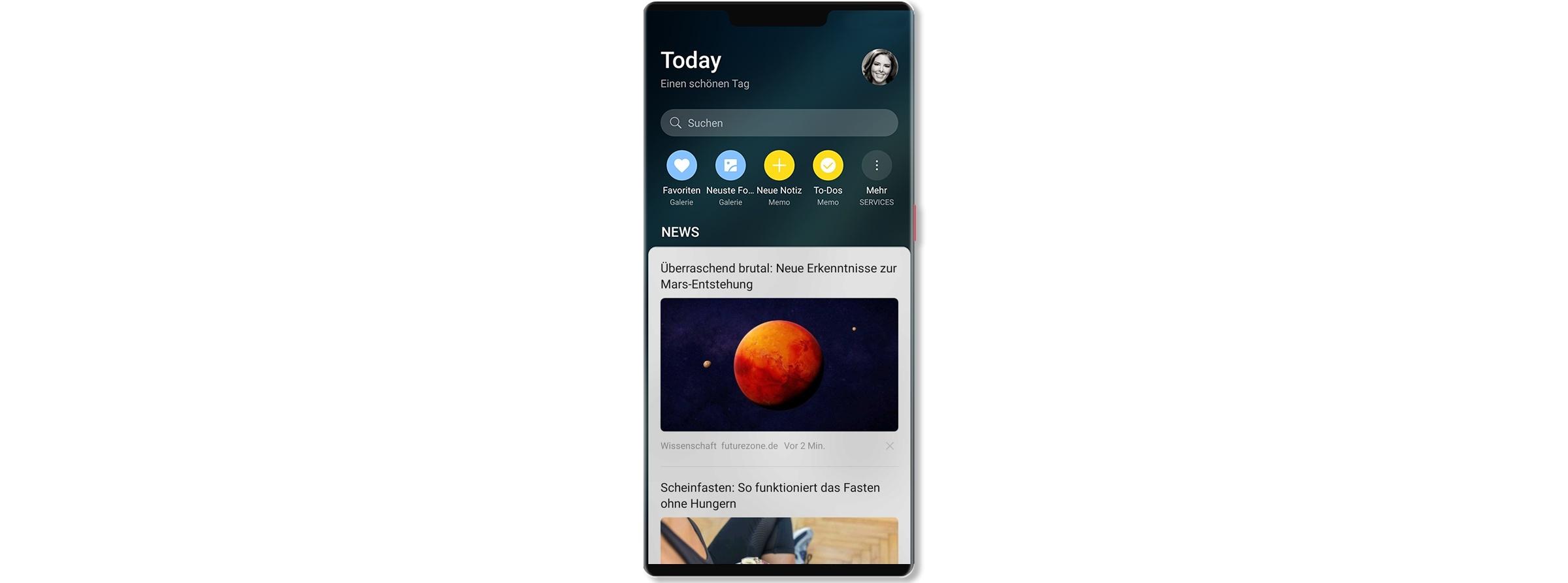 SQUID App offizieller News Lieferant von Huawei Smartphones