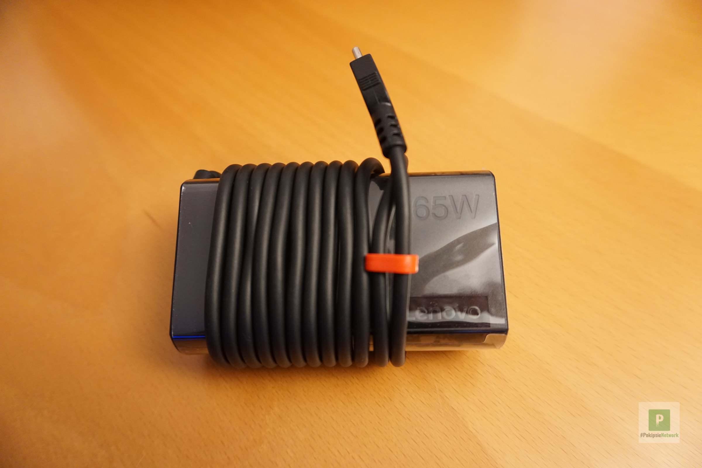 Das praktische 65 Watt Netzteil