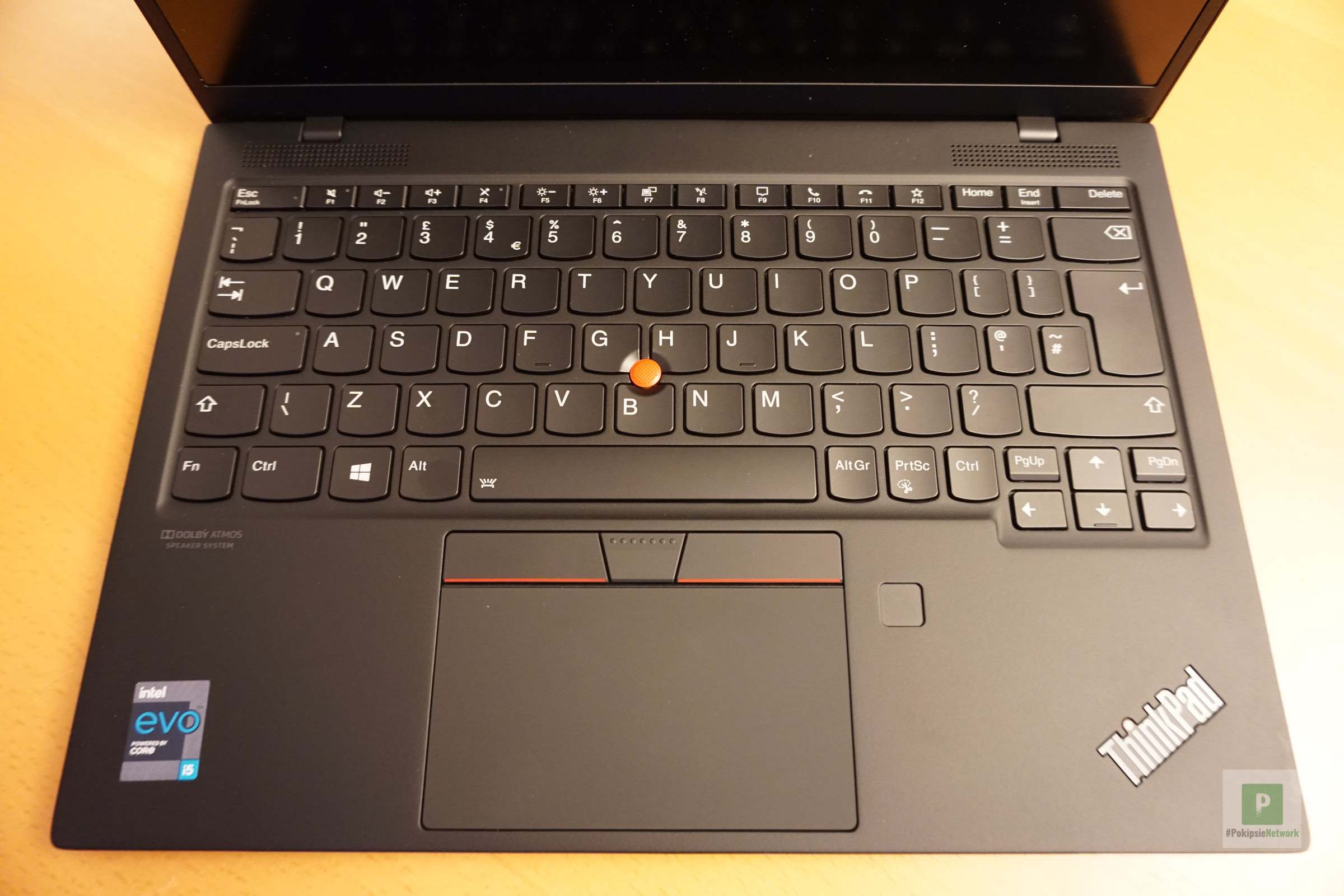 Die Tastatur und das Trackpad