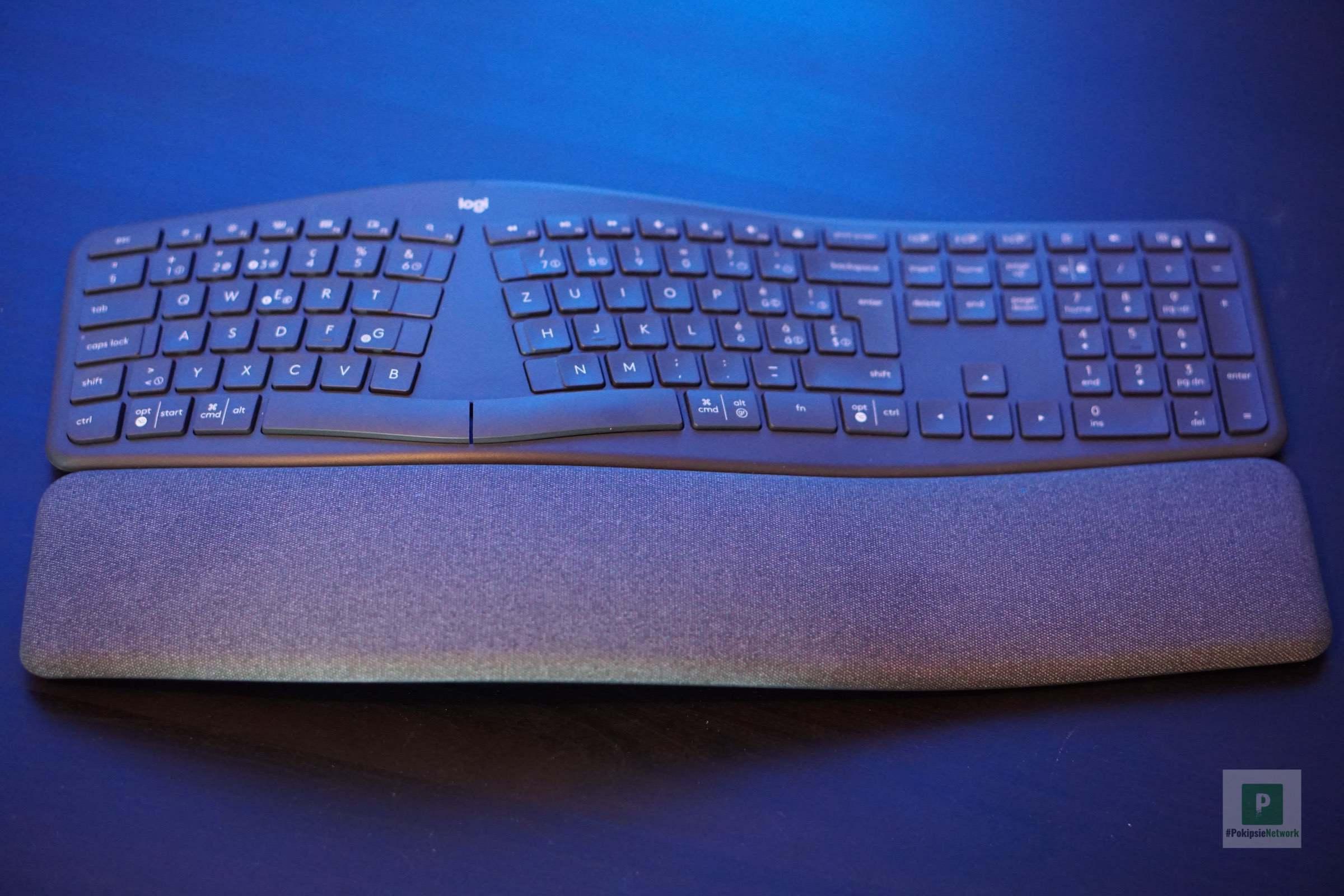 Logitech ERGO K860 – Ergonomischeres Schreiben