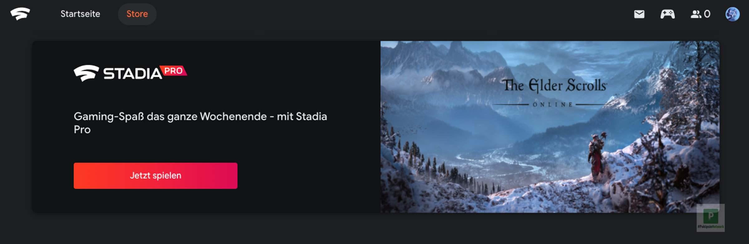 Neue Spiele für Stadia Pro