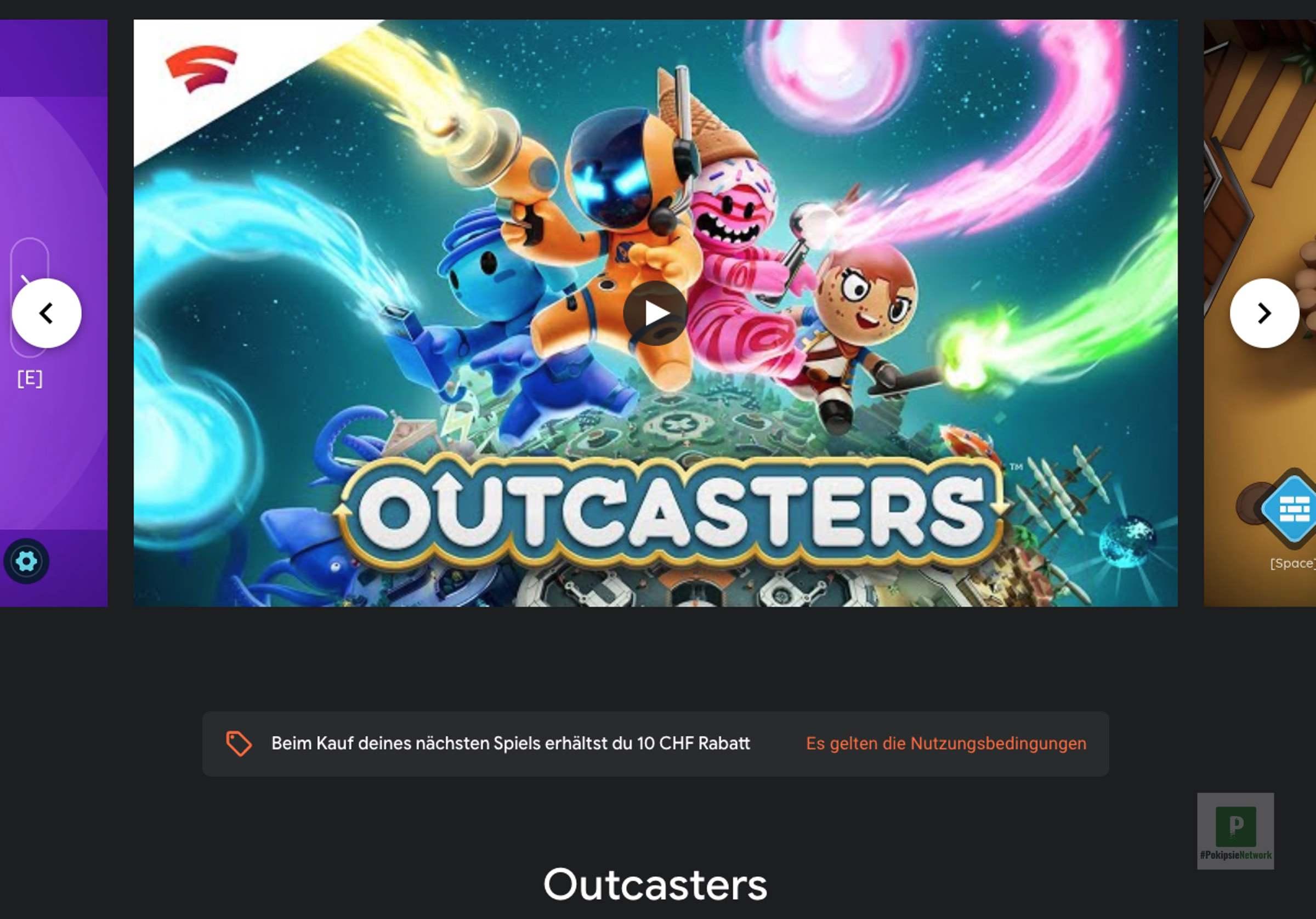 Outcasters für Google Stadia