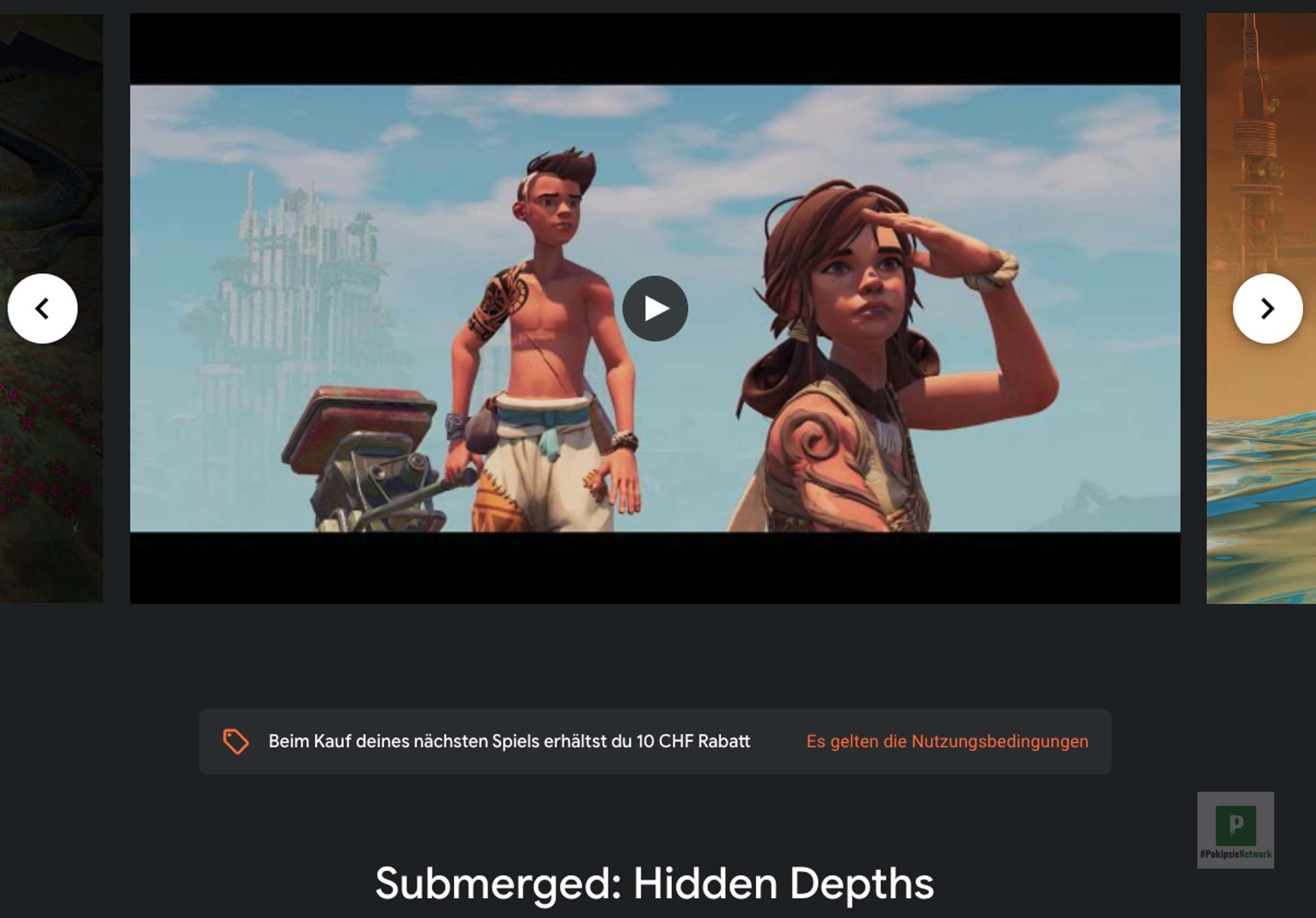 Submerged: Hidden Depths für Google Stadia