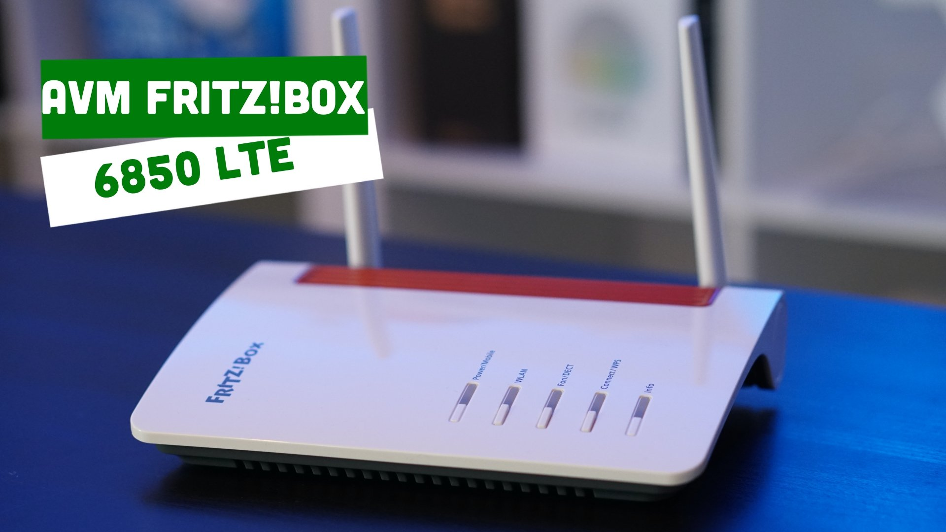 Video – AVM – FRITZ!Box 6850 LTE